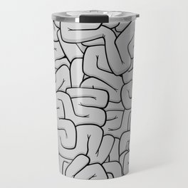 Guts or Brains - Grey Travel Mug