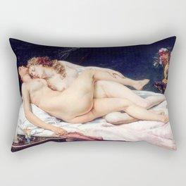NUDE ART : The Lovers Rectangular Pillow