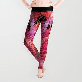 Ferns, Morning Blush Leggings