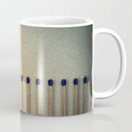 burning matches fire Coffee Mug