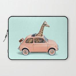 GIRAFFE CAR Laptop Sleeve