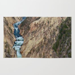 Grand Canyon of the Yellowstone - Yellowstone National Park Rug