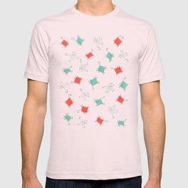Tape cats T-shirt