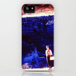 Cave Frame iPhone Case