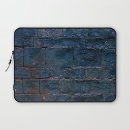 Middle evo wall made with blocks of stone. Laptop Sleeve