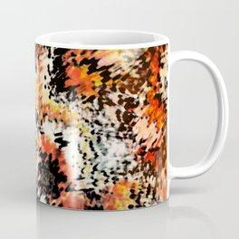 Smeared fiery abstract Coffee Mug