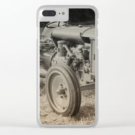 Early Fergie Clear iPhone Case