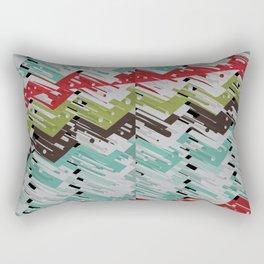 3D X Chevron Rectangular Pillow