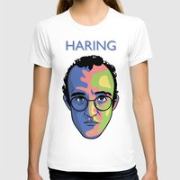 keith haring T-shirts featuring Haring by guissëpi