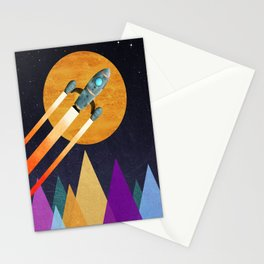 Rocket  2nd Star to the right  LLAP Stationery Cards