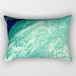 Rushing Madness Rectangular Pillow