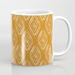 Watercolor Diamonds <> Sunset Orange Coffee Mug