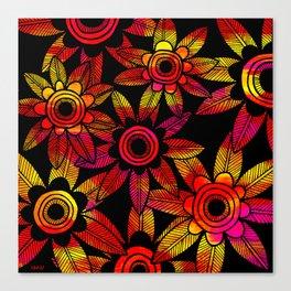 Big Floral 1 Canvas Print