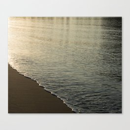 Calm Fiji sea shore Canvas Print
