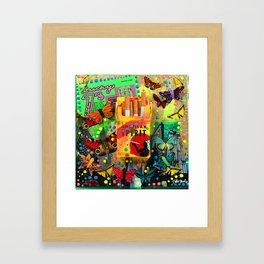 Lucky Sevens Framed Art Print