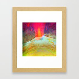 Volcanic Eruption II Framed Art Print