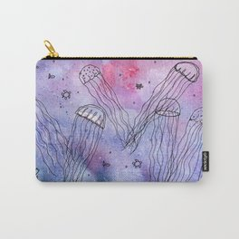 Whimsical Jellyfish Carry-All Pouch