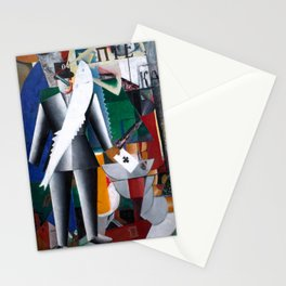Kazimir Malevich - Aviator - Suprematism Stationery Cards