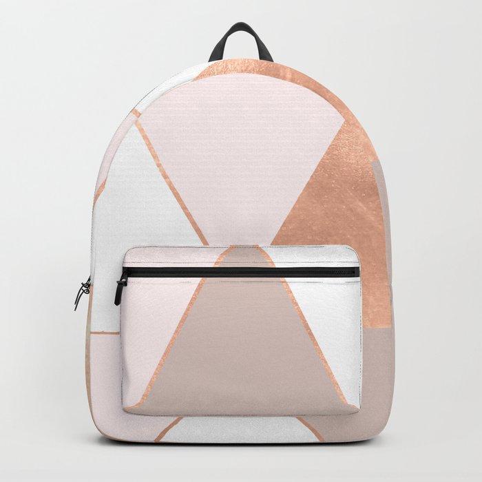 GEO TIKKI - ROSEGOLD PASTEL Backpack