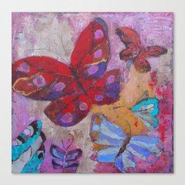 Life is a Flight Canvas Print