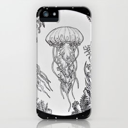 Jellies in Space iPhone Case