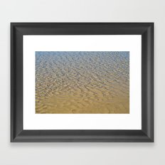 Ripples Framed Art Print