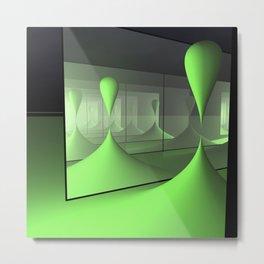 dimensions -4- Metal Print