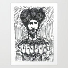 Powerful Art Print