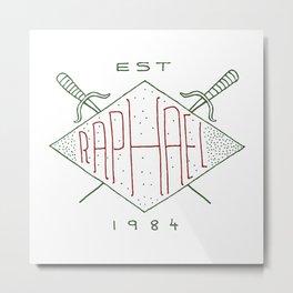 Raphael TMNT Metal Print