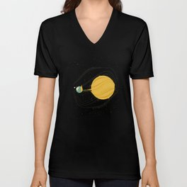 Death by Solar Flare Unisex V-Neck