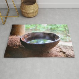 CocoNuts for Tea Rug