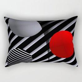 opart balls -2- Rectangular Pillow