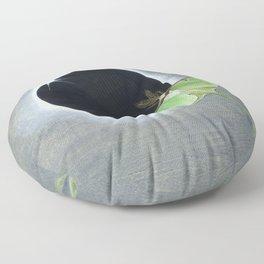 A fleeting moment Floor Pillow