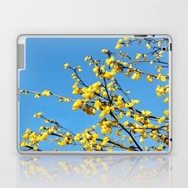 boom boom bloom Laptop & iPad Skin