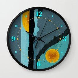Turquoise Twelve Wall Clock