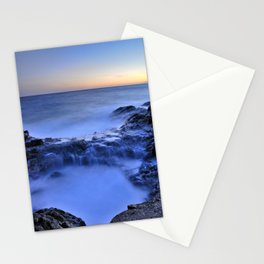 Blue seaside Stationery Cards