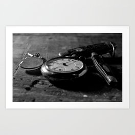 Tradition and Heritage - Black & White Art Print