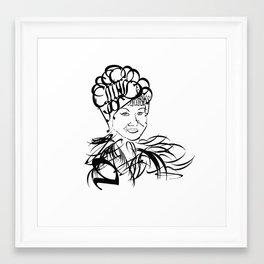 af Framed Art Print