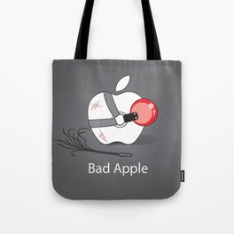 Bad Apple Tote Bag