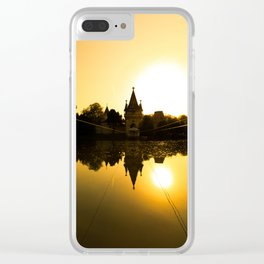View on Franzensburg castle in Laxenburg town in Austria. Clear iPhone Case