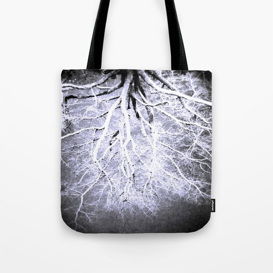 passage to hades color drained gray Tote Bag