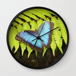 Costa Rican Beauty  Wall Clock