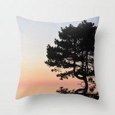 Upon the Horizon Throw Pillow