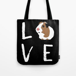 Guinea Pig Gift Love Guinea Pig Lovers Birthday Present Tote Bag
