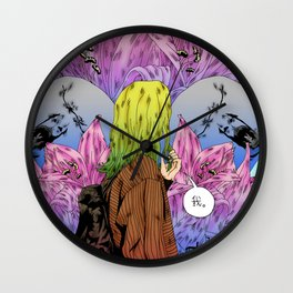 Only Shallow Wall Clock
