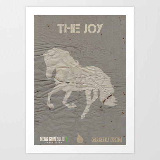 The Cobra Unit - The Joy Art Print