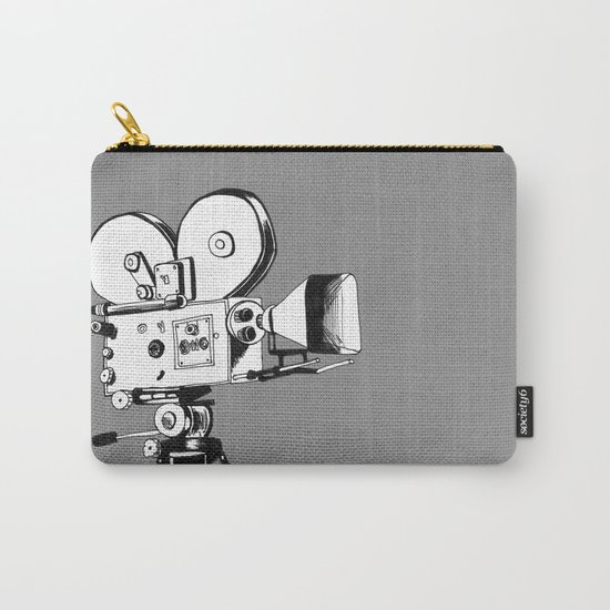 vintage filming Carry-All Pouch
