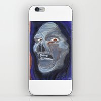skeletor iPhone & iPod Skins featuring Skeletor the Acrylic Ghoul by Dukesman