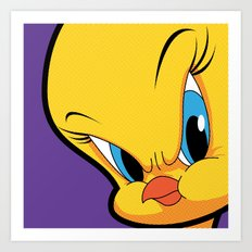 Pop Icon - Angry Bird 1 Art Print