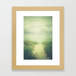 Finding Calm Framed Art Print